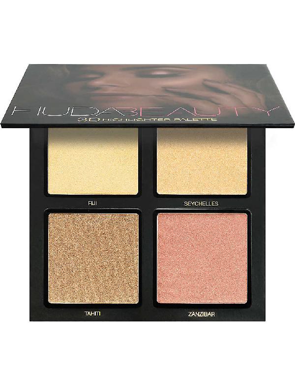Huda Beauty Golden Sands 3d Highlighter Palette