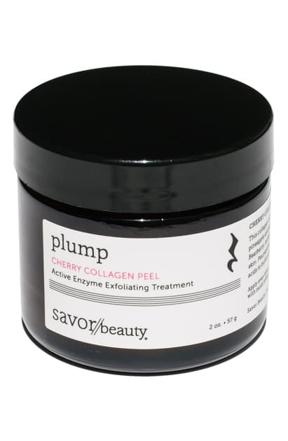 Savor Beauty Cherry Collagen Peel Active Enzyme Exfoliating Treatment