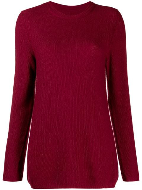 Holland & Holland Oversized Jumper In Red