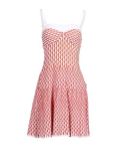 Missoni Short Dress In Red