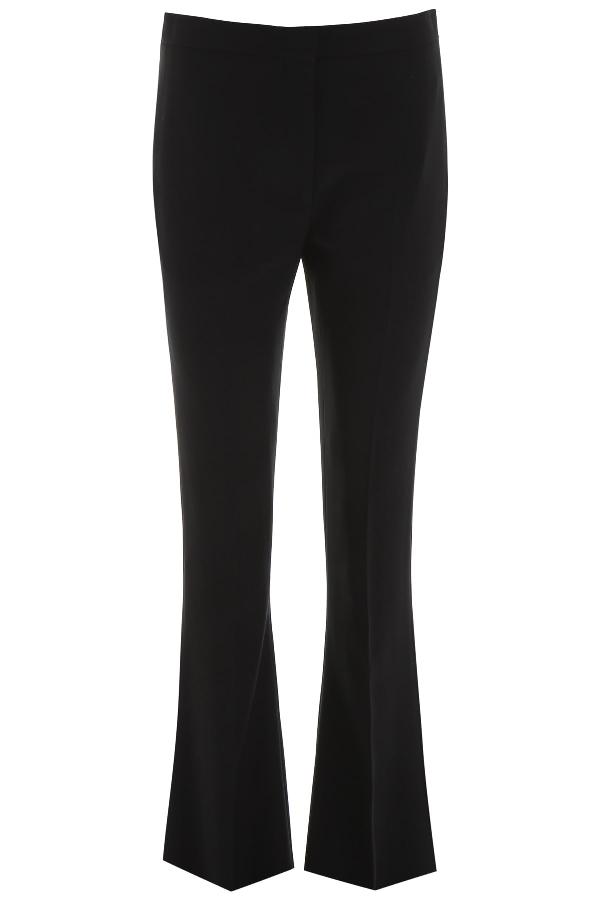 Alexander Mcqueen Flare Trousers In Black (Black)