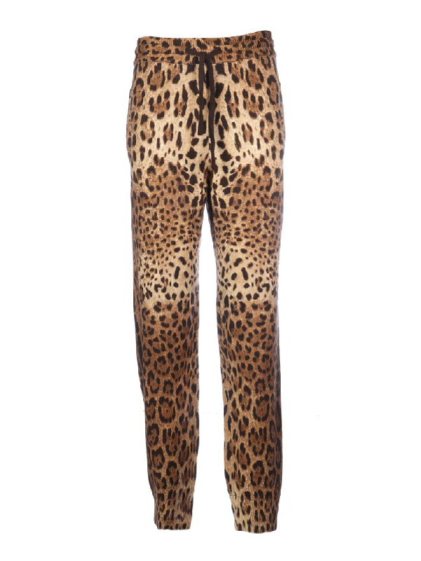 Dolce & Gabbana Sport Pant With Leo Stamp In M Leo New