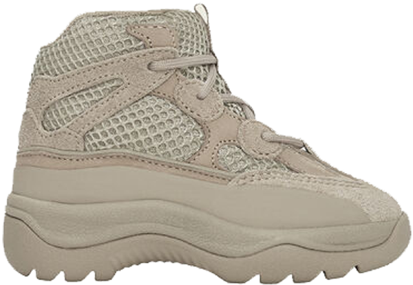 Adidas Originals Adidas Yeezy Desert Boot Rock (infant) In Rock/rock/rock