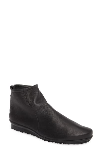 Arche Women's Baryky Leather Booties In Noir