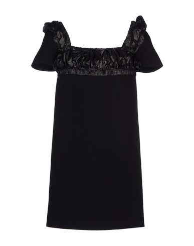 Christopher Kane Short Dress In Black