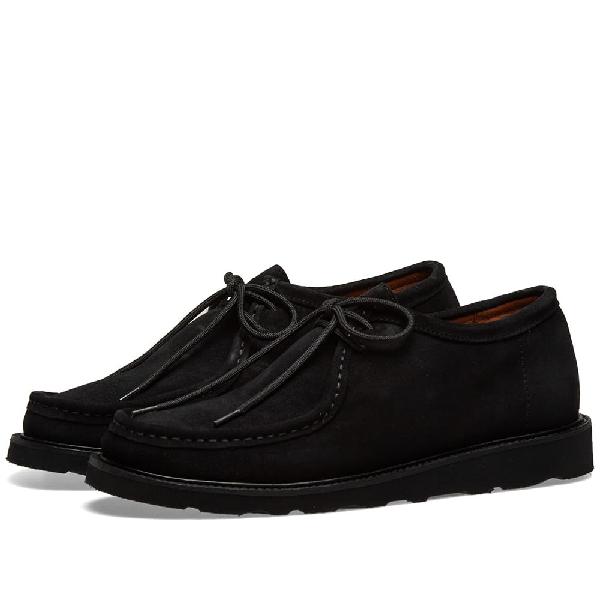 Wild Bunch Vibram Sole Wally Shoe In Black