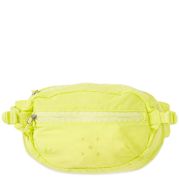 Pop Trading Company Pop Trading Company Hip Bag In Yellow