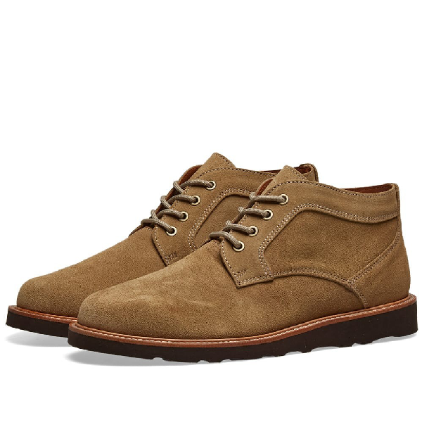 Wild Bunch Crepe Sole Classic Boot In Brown