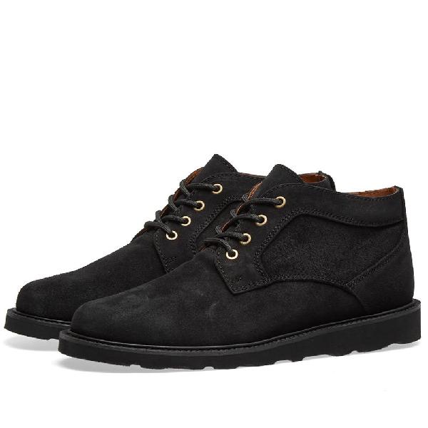 Wild Bunch Vibram Sole Classic Boot In Black