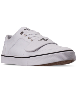 Creative Recreation Men's Cesario Canvas Low Top Casual Sneakers From Finish Line In White