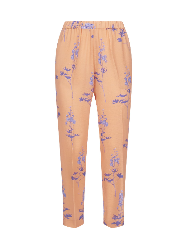 Dries Van Noten Trousers In Peach