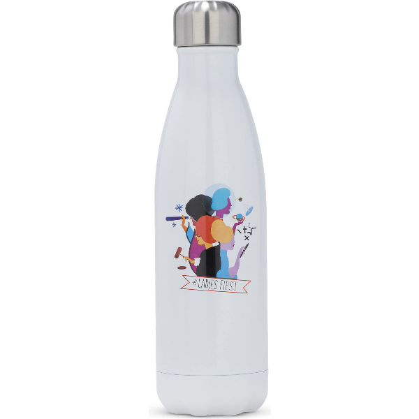 Keds S'well® Ladies First Water Bottle In White Multi