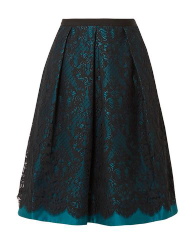 Draper James Midi Skirts In Deep Jade