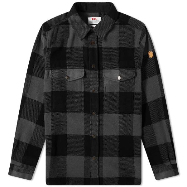 Fjall Raven Fjällräven Canada Shirt In Black