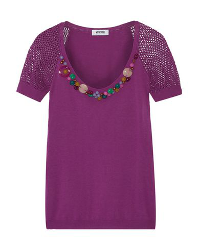 Moschino Cheap And Chic Sweater In Purple