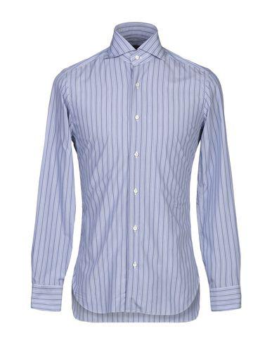 Barba Napoli Striped Shirt In Blue