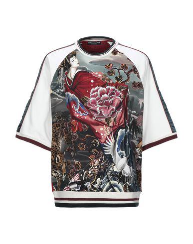 Dolce & Gabbana Sweatshirt In White