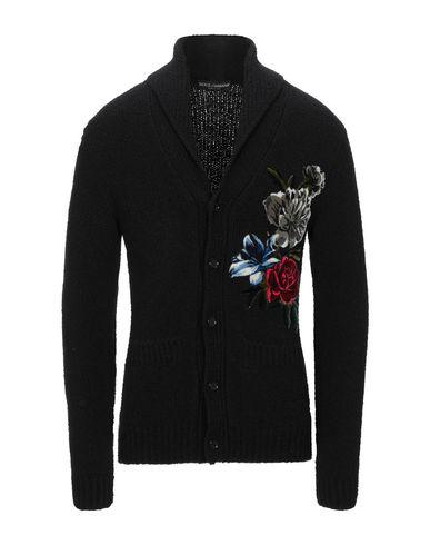 Dolce & Gabbana Cardigan In Black