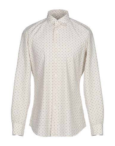 Glanshirt Checked Shirt In Ivory