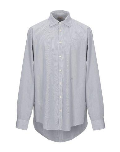 Massimo Alba Striped Shirt In Dark Blue