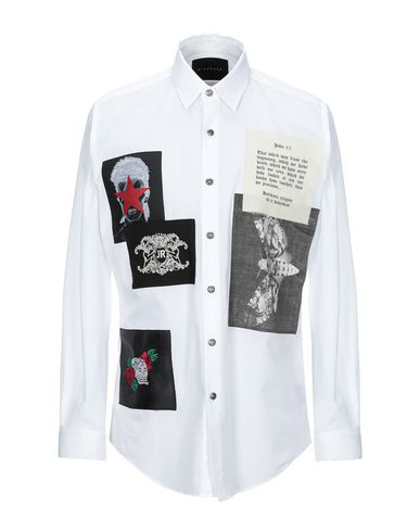 John Richmond Solid Color Shirt In White