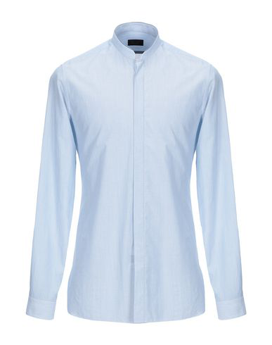 Lanvin Striped Shirt In Azure