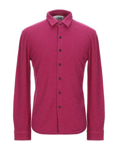 Ballantyne Solid Color Shirt In Mauve
