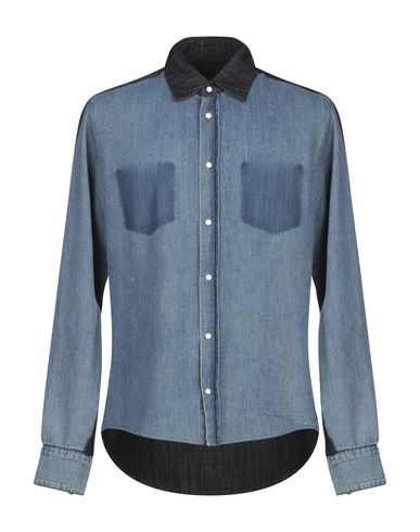 Rta Denim Shirt In Blue