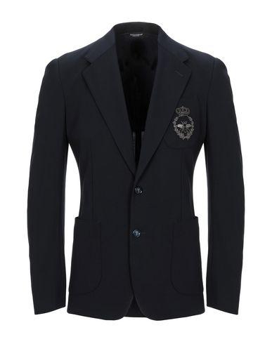 Dolce & Gabbana Blazer In Dark Blue