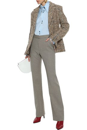 Sonia Rykiel Frayed BouclÉ-tweed Blazer In Sand