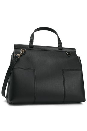 Tory Burch Woman Leather Shoulder Bag Black