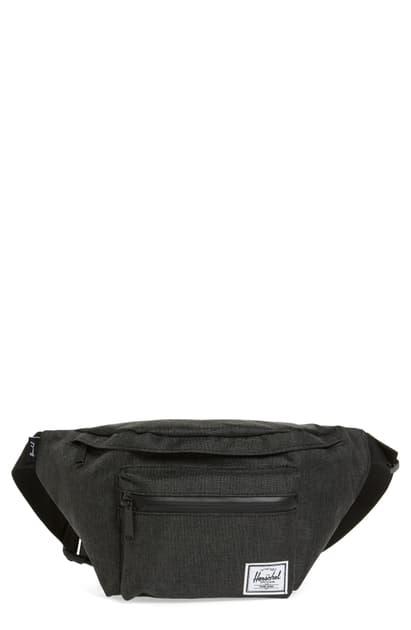 Herschel Supply Co. Seventeen Hip Pack - Grey In Grey Crosshatch