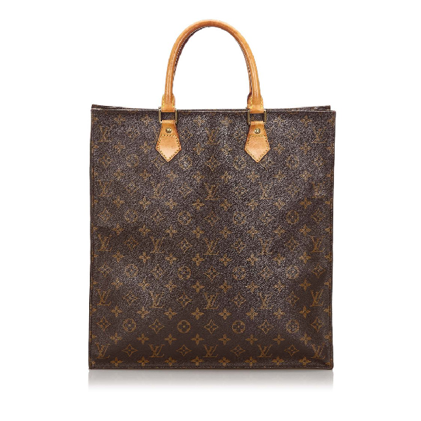 Louis Vuitton Monogram Sac Plat In Grey