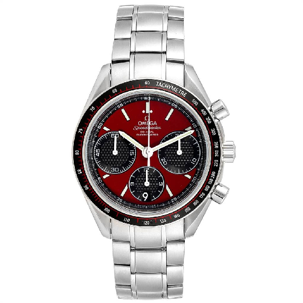 Omega Speedmaster Racing Red Chronograph Mens Watch 326.30.40.50.11.001
