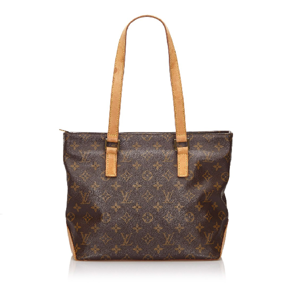 Louis Vuitton Monogram Cabas Piano In Grey