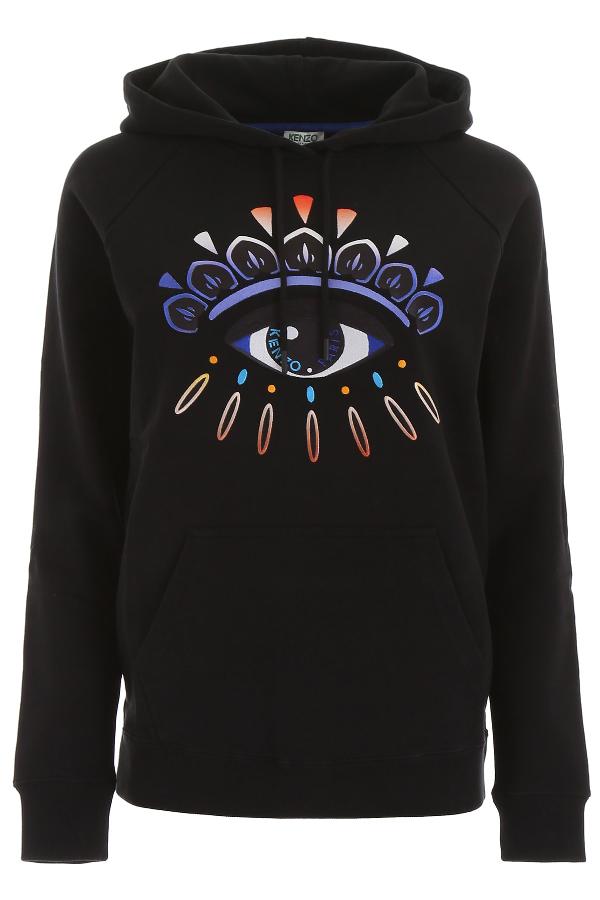 Kenzo Eye Hoodie In Noir (black)