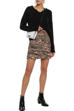 Autumn Cashmere Woman Distressed Cashmere Sweater Black
