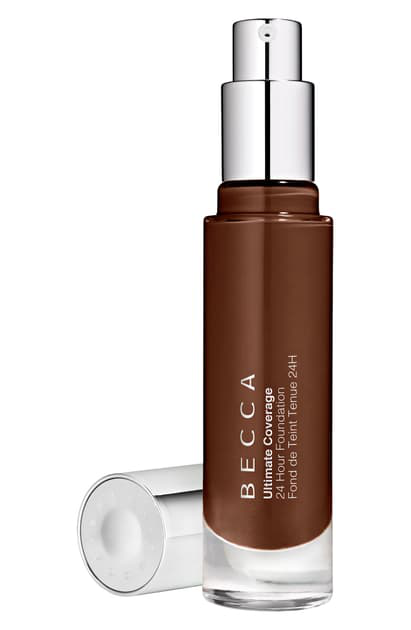 Becca Cosmetics Becca Ultimate Coverage 24 Hour Foundation In Mahogony 6c1