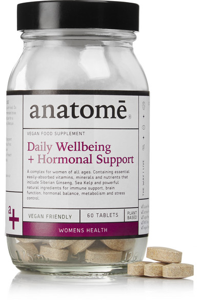 Anatome Women's Daily Wellbeing Hormonal Support - 60 Capsules In Colorless