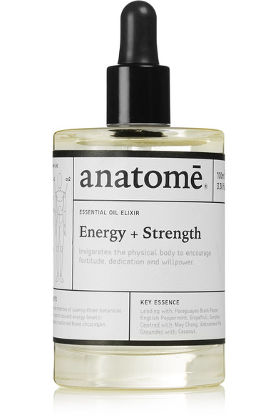 Anatome Essential Oil Elixir - Energy Strength, 100ml In Colorless