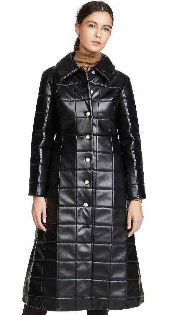 A.w.a.k.e. Miss Roboto Coat In Black