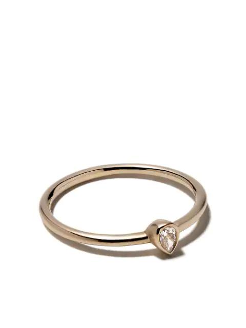White Bird 18kt Gold Diamond Camille Ring In White Gold
