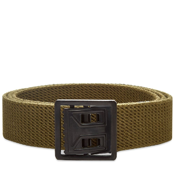 The Real Mccoys The Real Mccoy's Web Belt In Green