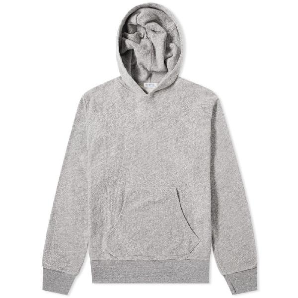 Velva Sheen French Terry Pullover Hoody In Grey