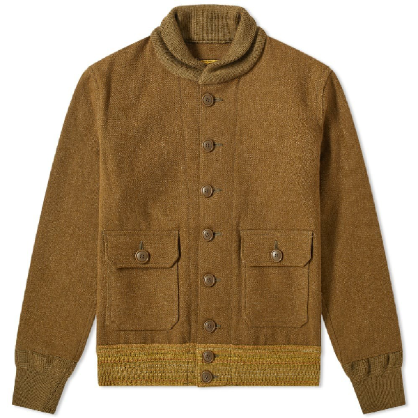 The Real Mccoys The Real Mccoy's Ccc Jacket In Green