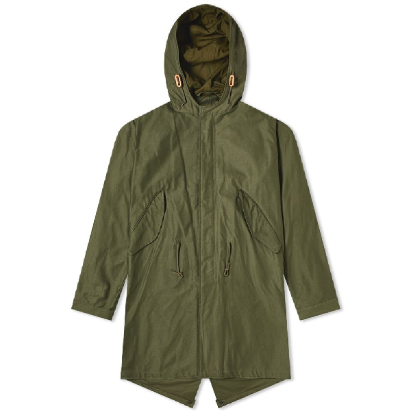 The Real Mccoys The Real Mccoy's M-1951 Parka In Green