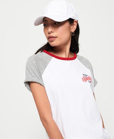 Superdry Kobe Satin Stitch Cap In White