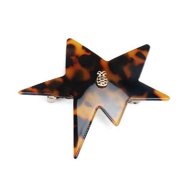 Ia Bon Star Clip – Tortoise In Brown