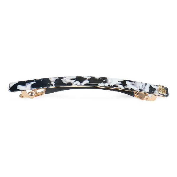 Ia Bon Simple Hair Clip – Black & White