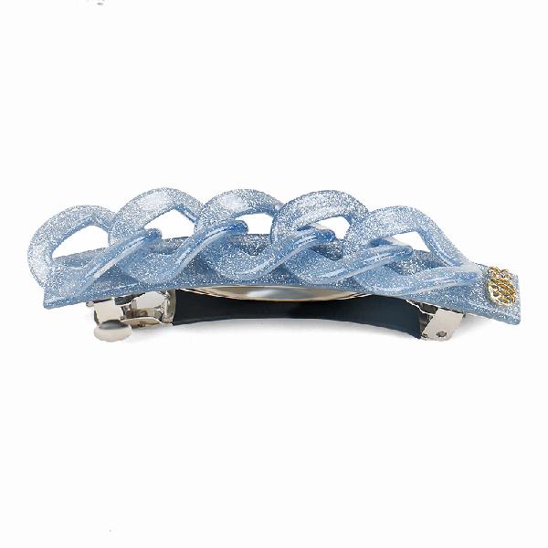 Ia Bon Chain Clip – Blue Glitter